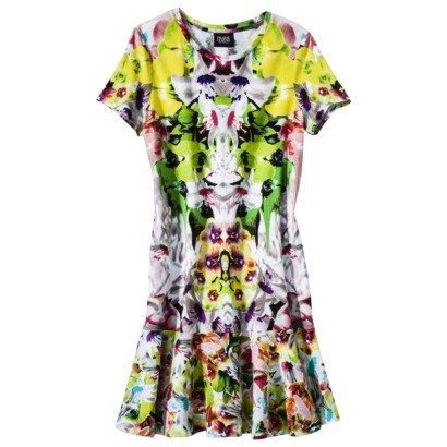 Prabal Gurung Drop Waist Dress in First Date Print