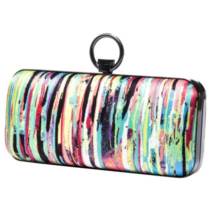 Nolita Print Hard Sided Clutch
