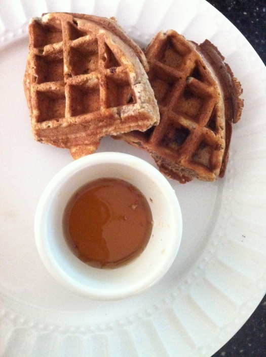waffles with almond flour