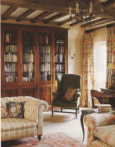 english country home decor