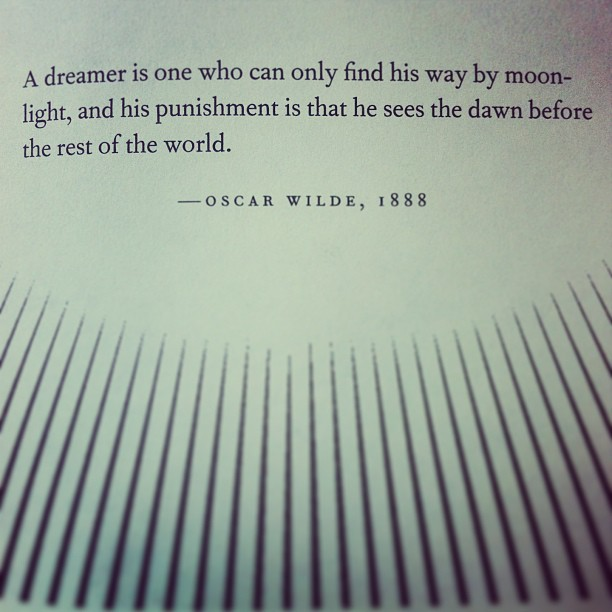 the night circus quote oscar wilde