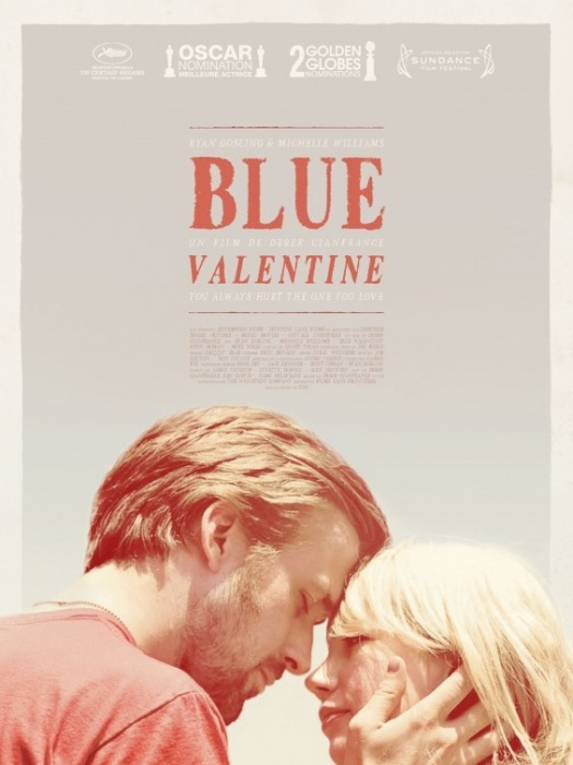 blue valentine indie movie poster