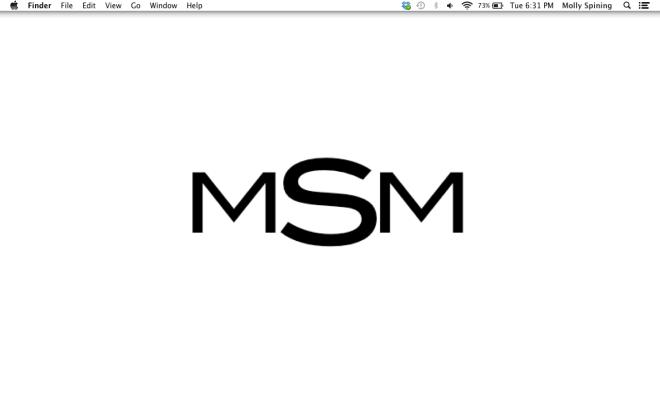 easy monogram desktop wallpaper