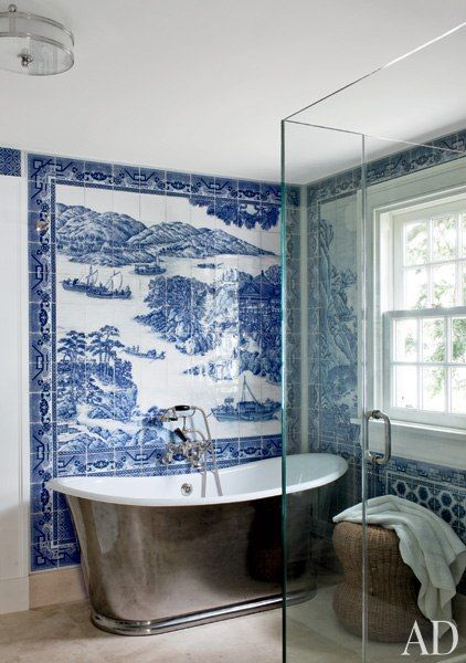 toile tile bathroom