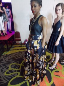 My favorite look from Kristi's finale show on Saturday