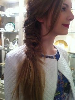 Amazing hair on Kristi's models