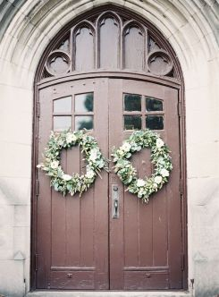 church-door-wedding-wreaths