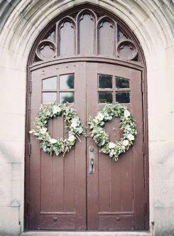 church-door-wedding-wreaths