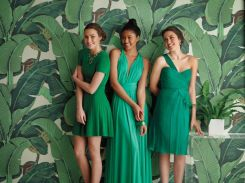 green-bridesmaids