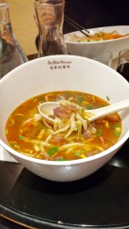 Chris's spicy beef soup