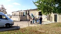 Arriving at Château de Ferrand