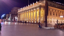 One of the main squares in Bordeaux, just behind the Opéra National de Bordeaux