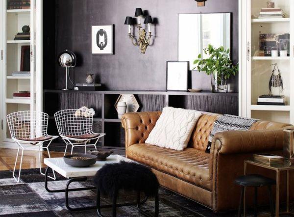 chesterfield sofa - modern
