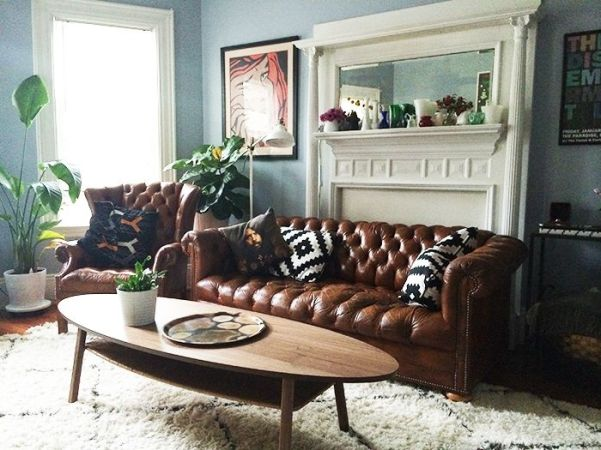 chesterfield sofa inspiration