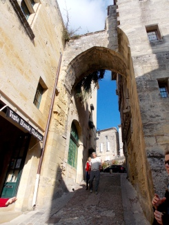 Large gates, now removed, previously separated the upper town (nobles) from the lower town (middle class)