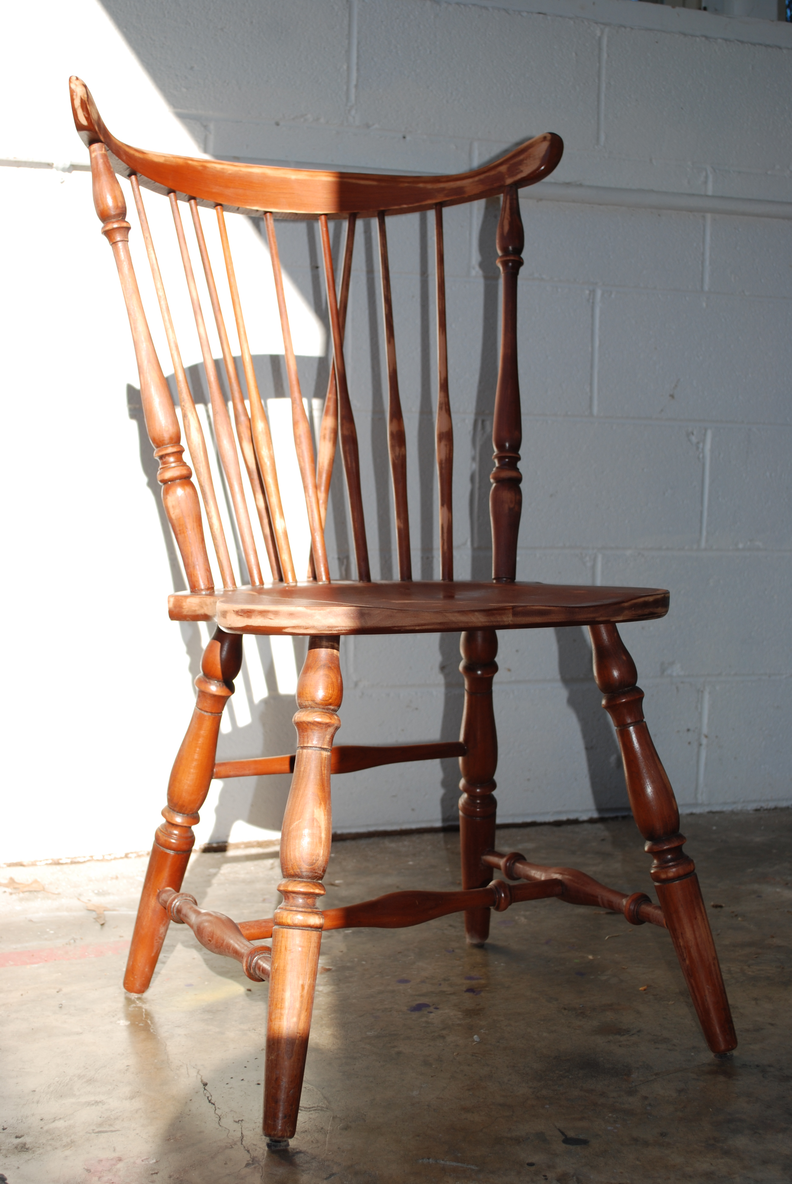 Then, We Painted The Chairs With Black Milk Paint. We Used Milk Paint  Because, Historically, Craftsmen Used It On Windsor Chairs. Also, Itu0027s  Durable With A ...