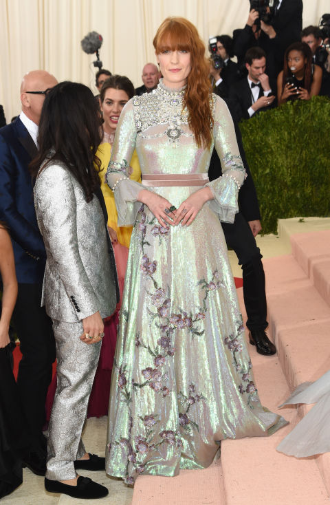 Florence Welch Met Gala 2016