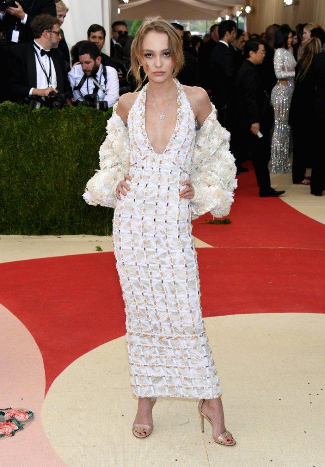Lily-Rose Depp Met Gala 2016